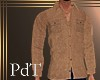 PdT Nutmeg Wool Shirt M