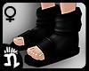 (n)Ninja Sandals 5 Black