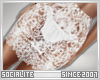 !0h! White Lace Skirt |