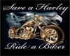 ~T~Save a Harley Tee
