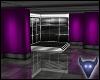 Purple satin suite