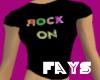 (F)Rock On T-Shirt