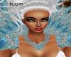 Blue Diamond Necklace