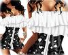 ^QA^ Black Wedding Dress