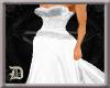 (D) White Wedding Dress