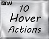 SuperHero Hover 10 Acts