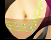 Green * Belly Chain