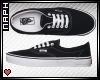 Black Vans. F.