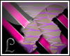 purple ballet shoes