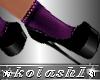 K*Shoes socks DD Purple