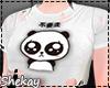 Sk! Top Kawaii Panda Wh