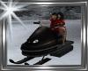 ! winter snowmobile.