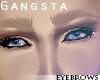 P | Blonde eyebrows