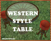 westernstyle table