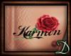 [D] Karmen Tattoo w rose