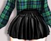 M > Black Skirt