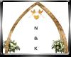 Wedding Dove Arch