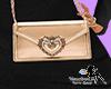 V - Luxury Gold Crossbag