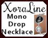 (XL)Mono Drop Necklace