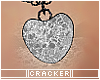 CKR glass heart