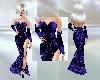 Mistress Blue Gown
