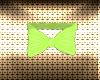 Easter Lime Bunny Bow