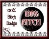 {SCC} 100%  Badge
