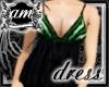 [AM] Grace Green Dress