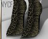 NYCF  Snakeskin Ankle