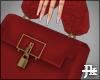 J ღ Red Handbag.