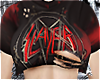 slayer - ripped crop top