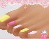 💛 Flamingo Toes