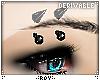 Eyebrow spikes