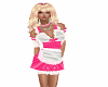 french maid outfit pink