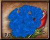 [R] Blue Head Flower