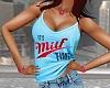 MILF Time Blue Cami