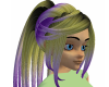 Purple Golden Hair
