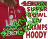 49ERS SB LIV CHAMP HOODY