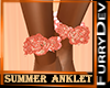 FURRY ANKLET