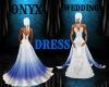 ~ONYX~W/B~WEDDING DRESS