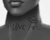 neck tatto