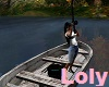 fishing boat animated