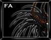 (FA)Horn Dreads Fire