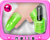 MORF Nails Lime Green