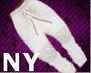 [NY] Stem White Jogger