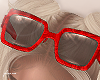 f. red marbled shades