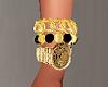 Gold Black Sexy Watche F