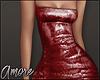 $ Red Mini Dress  M