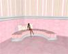 Pretty in Pink Sofa (R)