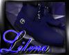 [L] BlueTimberland Boots